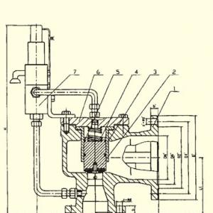 YFA46C型磅级先导式安全泄压阀